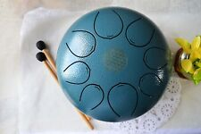 WuYou 10in Steel Tongue Pentatonic Drum Handpan Drum Tank w/ carry bag & mallets