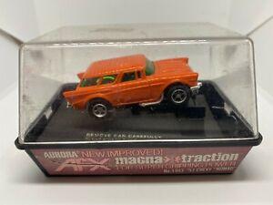 AFX - '57 Chevy Nomad - Orange - HO Slot Car
