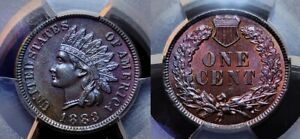 1883 Indian Head Cent 1c PCGS MS 64 BN