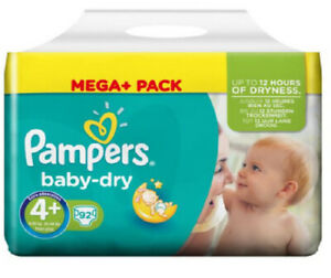 Pampers Baby Dry 4+ (184 Windeln)