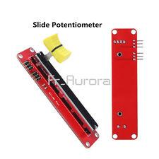 10K Linear Slide Potentiometer Module Dual Output Arduino AVR Electronic Block