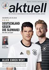 Länderspiel 29.05.2016 Deutschland - Slowakei in Augsburg