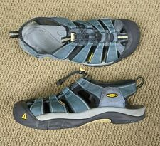 Keen Newport H2 Hiking Closed Toe Sandals Water Shoes Blue  Men's Size 12 READ