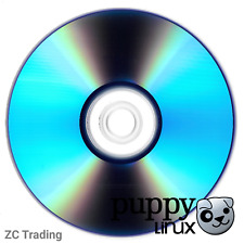 Puppy Linux Ubuntu Bionic Live CD Bootable Installation Disc Linux 32 Bit