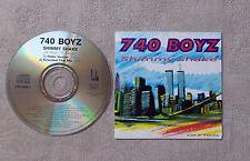 """CD AUDIO MUSIQUE INT / 740 BOYZ """"SHIMMY SHAKE"""" CDS  2T 1995 FEEL THE RHYTHM"""