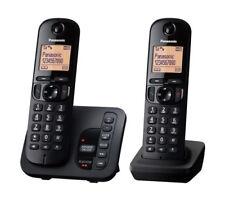 Panasonic KXTGC222EB Twin Cordless DECT Phone With Answer Machine