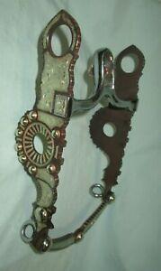 "Vintage German Silver Santa Barbara Show Bit B-1549GS MP-03 Patina (5 1/8"" MP)"