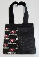 Handmade NFL San Francisco 49ers Tote Purse Bag