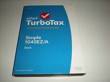 Turbotax 2014 Basic. Federal only + Federal E-file. New in sealed box.