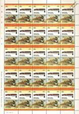 1941 Norfolk & Western (N&W) Class J 4-8-4 Train 50-Stamp Sheet / LOCO 100 LOTW