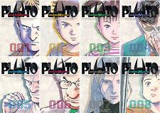 Pluto Urasawa x Tezuka Series MANGA by Osamu Tezuka and Naoki Urasawa Set 1-8!