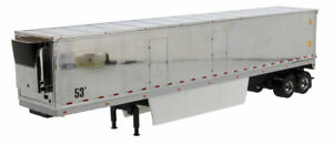 1:50 scale 53' Refrigerated Trailer-Chrome Sides - DM91022