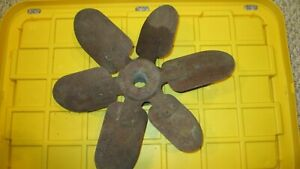 Vintage OE 1939 Ford Passenger Six Blade Cooling Fan  P/N 91A-8600 used