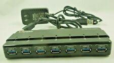 Uspeed H7928-U3 7-Port USB 3.0 Hub (USB 3.0 up to 5Gbps)