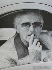 1976 Pebble Beach Concours BILL HARRAH Bugatti Atalante Best of Show Photo Print