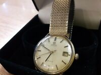 VINTAGE 1971-72 OMEGA  AUTOMATIC DE VILLE ORIGINAL GENTS WATCH CAL 684