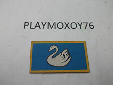PLAYMOBIL. TIENDA PLAYMOXOY76.  ALFOMBRILLA DE LA TIENDA DE CAMPAÑA DEL CISNE.