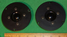 (2) Baby Advent Maestro Tweeters 490010 (J11Tnh) Working 3.3 Ohm 1980's 3 1/2 in