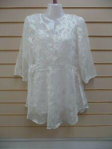 Studio 8 Ladies White Top Size 12 Olympia  BNWT (G012