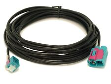 6m DAB Antenna Extension  Cable FAKRA  female code Z - FAKRA double RCD RNS 310