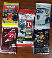 2017-2019 NFL Football 5 Pack Special Lot - See Details inside!
