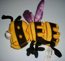 "PBS WORD WORLD PLUSH BUMBLE BEE 3 PIECE 7"" REFRIGERATOR MAGNET"