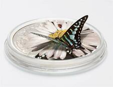 Rare 2015.Equatorial Guinea Large Proof Silver 1000 Fr 3D Butterfly--Gift Box