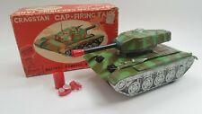 Vintage Cragstan Cap Firing Tank Battery OP -Original box-