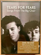 TEARS FOR FEARS - Songs From The Big Chair - Ltd. 6CD Super DeLuxe - NEU/OVP