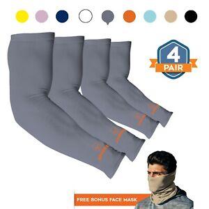 Basketball Arm Sleeves BLACK for Men Women Compression Sleeve Multi Color
