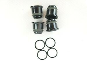 8pcs Toyota Fuel Injector Nozzle Holder Spacer 2.4 2.7 9056110018 w O-Rings 4Cyl
