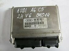 AUDI A4 B5 A6 C5  2,4 121KW AGA ALF 97-00  ENGINE CONTROL ECU MODULE UNIT BOSCH