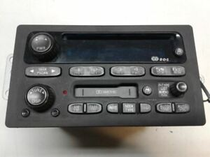 Audio Equipment Radio Opt UB1 Fits 01-02 EXPRESS 1500 VAN 1325054