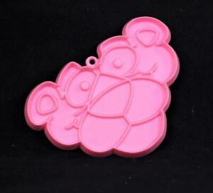 "One (1) 1978 Hallmark ""PINK PANTHER"" Cookie Cutter. 4"" X 2 3/4"""