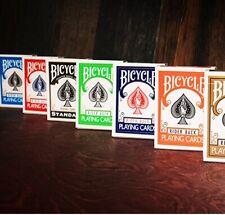 Jeu de Cartes Bicycle Rider Back Poker Color Collection