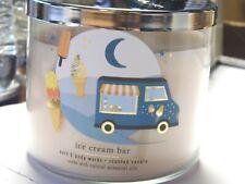 "Bath & Body Works ""Ice Cream Bar"" 3 Wick Candle Brand New"
