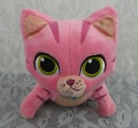 "Disney Doc McStuffins Whispers Kitty Cat Pink 6"" Pet Vet Plush Stuffed Animal"