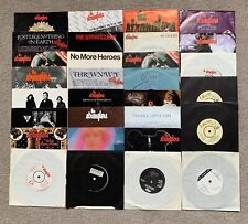 "The Stranglers 7"" 45 Single Vinyl Record Bundle Collection Rare UK epic Punk"