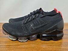 Nike Air Vapormax Flyknit 3 negro piel de serpiente hombre talla 10.5 AJ6900-023 Nuevo Raro