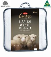 Tontine Luxe Australian Lambswool Blend High Warmth Doona Duvet Quilt-All Sizes