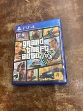 Grand Theft Auto V (Sony PlayStation 4, 2014) Ps4 Disc & Case with Map