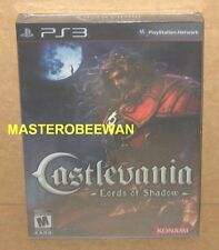 PS3 Castlevania: Lords of Shadow Limited Edition New Sealed PlayStation 3