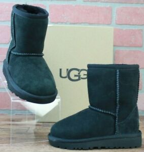 *UGG Australia Infants/Toddlers Classic Toddler Black 5251T Size EU 26/US 9