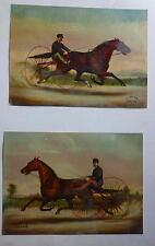 Trotting Queen - Maud S Grand & Trotter-St-Julien Horse Chromolithographs