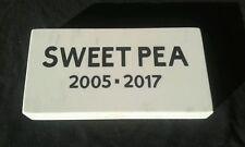 CUSTOM ENGRAVED GRANITE PET MEMORIAL, HEADSTONE, GRAVE MARKER STONE