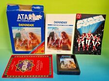 Defender  for Atari 2600 - Cartridge, Box, + Manual - Tested, Working Complete