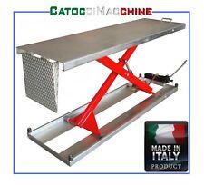 SOLLEVATORE PONTE MOTO 200X60 PORT. 300 KG MADE IN ITALY CATOCCIMACCHINE ZINCATO
