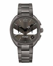 Совершенно новый роскошный Fendi часы унисекс серый циферблат F215716400