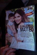 People en Espanol Agosto 2015 Alejandra Espinoza Mia De Molina Free Shipping