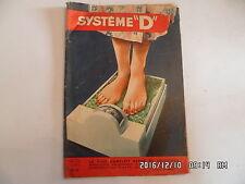 SYSTEME D N°133 1/1957 CANOE BIPLACE EN OSIER PESE PERSONNE MOBILIER JARDIN  D44